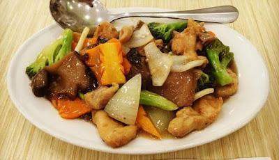 Foto Resep Ayam Cah Jamur Ala Restoran