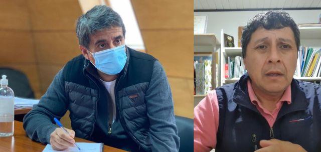 Diputado Santana y Concejal Muñoz
