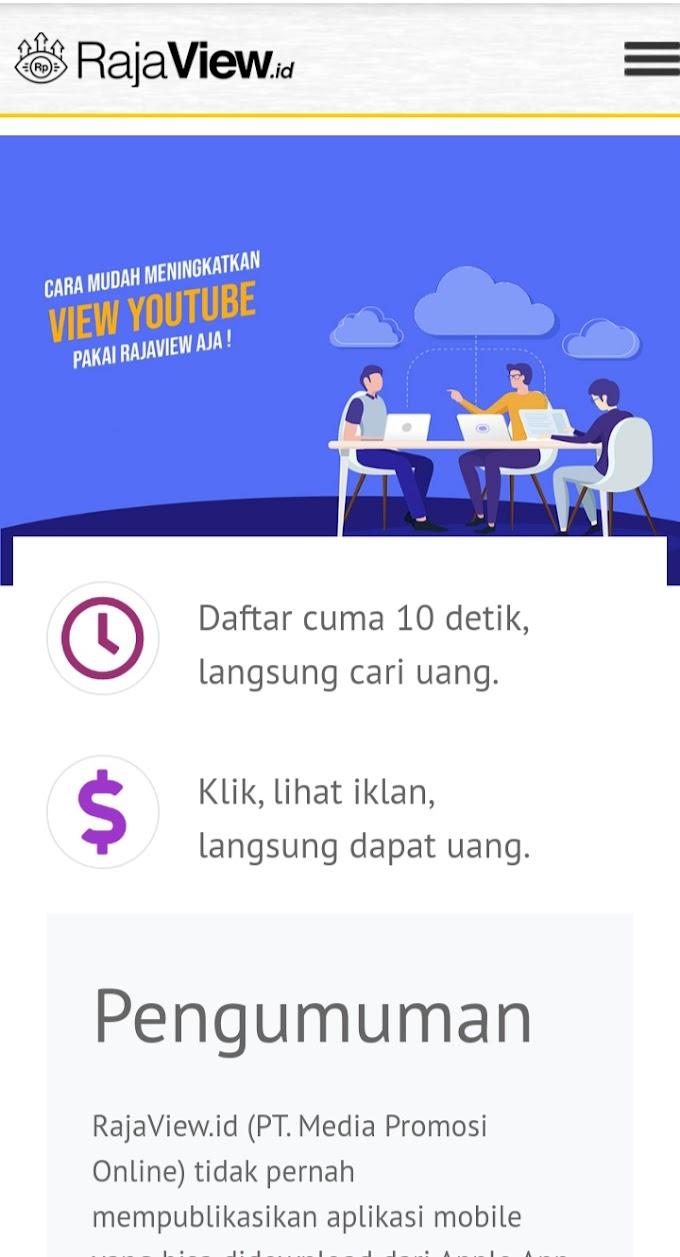 Cara Agar youtube dan Blog Cepat Di Monetisasi Dengan Raja View