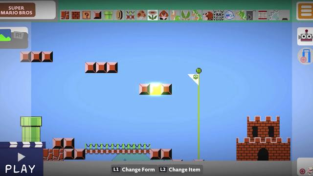 Super Mario Maker Recreated Inside Little Big Planet 3