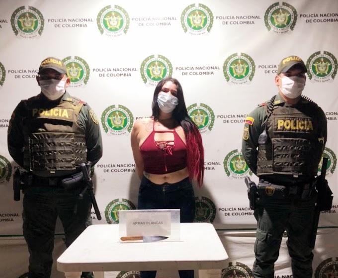 Capturan a venezolana que sería responsable de agredir a dos ciudadanos en Centro Histórico de Santa Marta