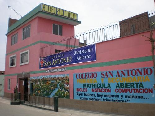 Escuela SAN ANTONIO - El Agustino