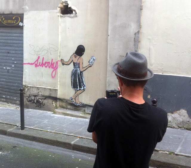 Street Art By Nick Walker In Paris, France. 3