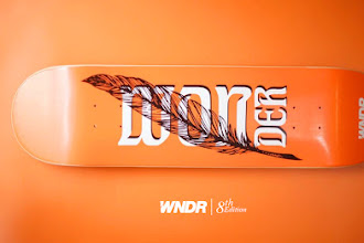 WNDR TEAM - QUILL PEN SKATEBOARD DECK
