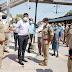 गुजरात से आज आयेंगे श्रमिक, डीएम-एसपी ने स्टेशन का किया निरीक्षण