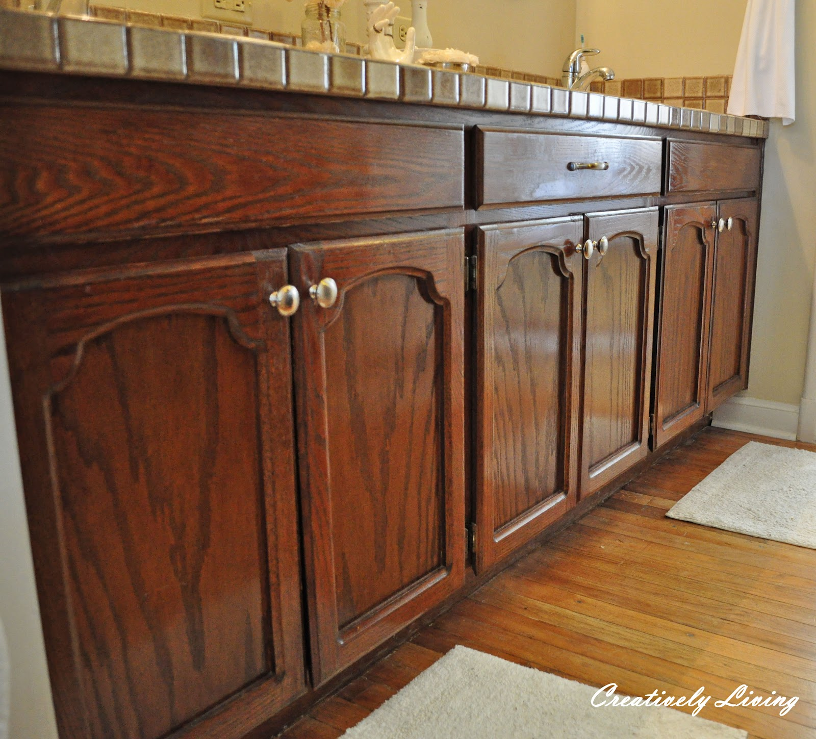 "Refinishing Wood Cabinets: Creatively Living: Creatively Living's ""The Best Of February!"""