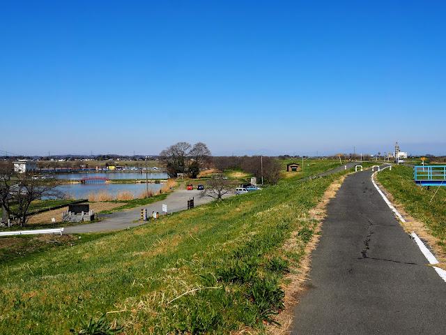 荒川自転車道 鳥羽井沼自然公園