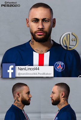 PES 2020/2019 Neymar Jr Bald by Nanilincol44