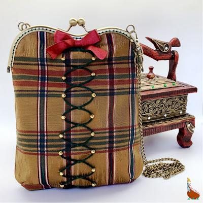 Petit sac bandoulière chaîne Boudoir