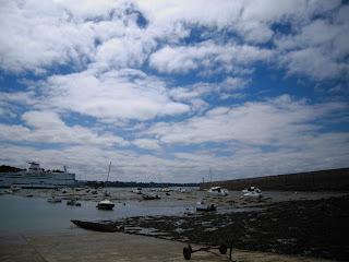 Embarcadère Saint Malo, cale de Dinan