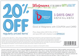 Walgreens coupons for february 2017