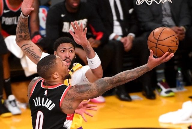 Damian Lillard Reacts To Lakers Trade Rumors