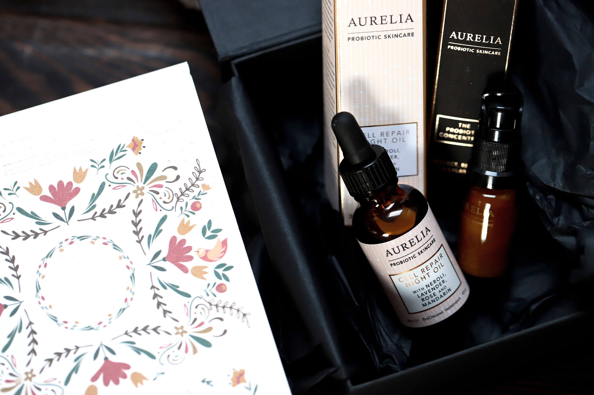 Aurelia Probiotic Coffret de Noël Night Time Repair
