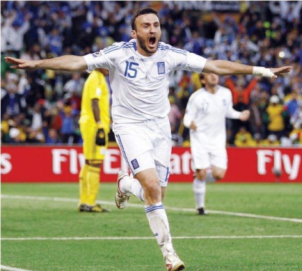 مباراة إسبانيا واليونان