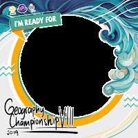 Twibbon Resmi Geography Championship VIII Tahun 2019