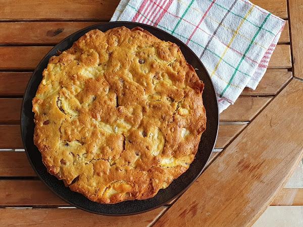 Recette de saison : le gâteau pommes/noisettes !