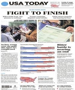 USA Today Magazine 6 To 8 November 2020 | USA Today News | Free PDF Download