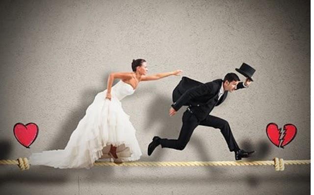 أكذوبة  الزواج مصيدة للرجال من قبل النساء