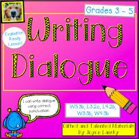 Teaching Power point Writing Dialogue