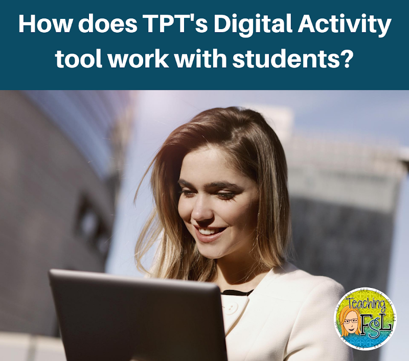 How to use the Digital Activity Feature on TPT with Students