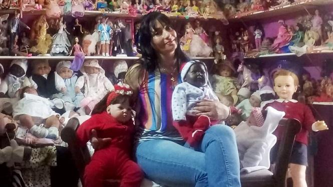 """Mariana Gómez cerrará su """"mundo de muñecas"""" por la inseguridad en San Rafael"""