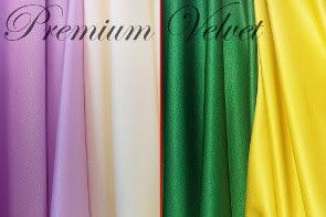 Harga Bahan Satin Velvet per Meter