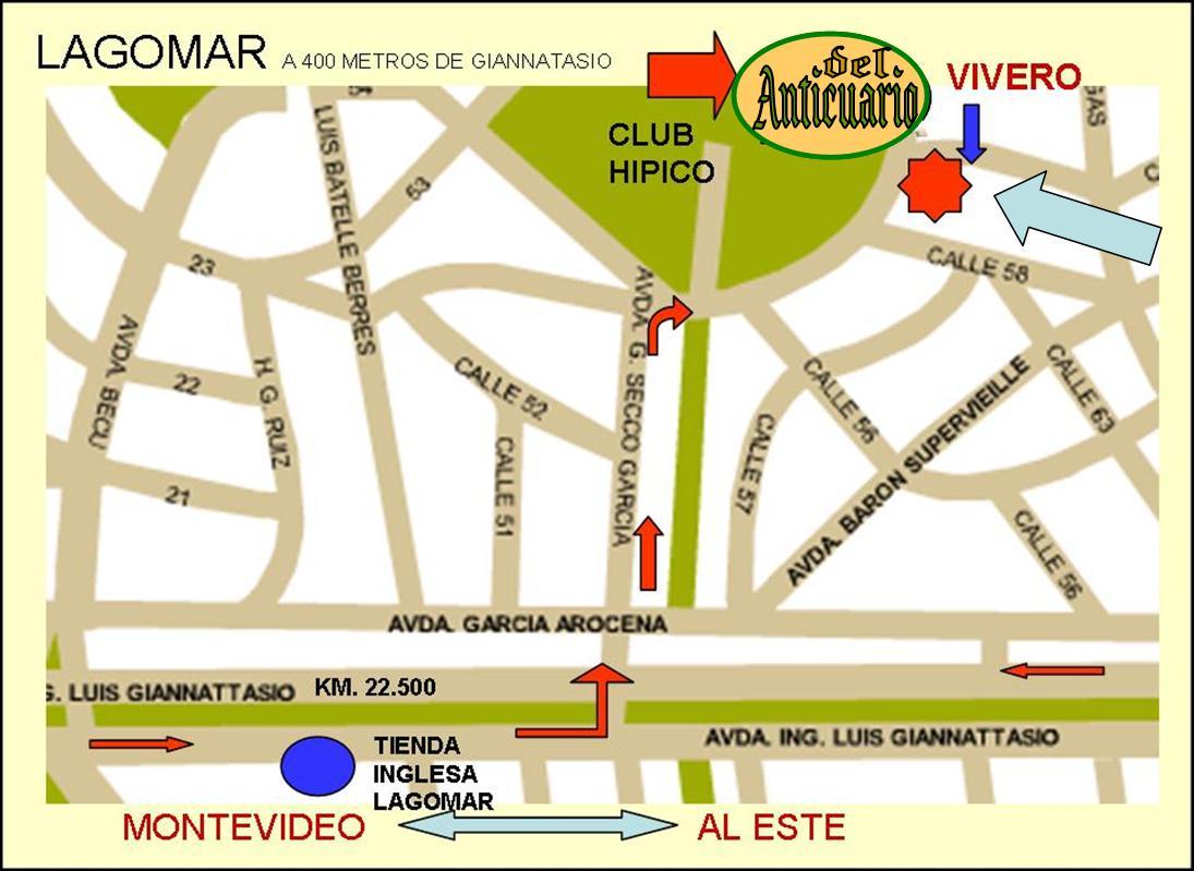 Localización De Una Casa En El Mapa: DEL ANTICUARIO: MAPA