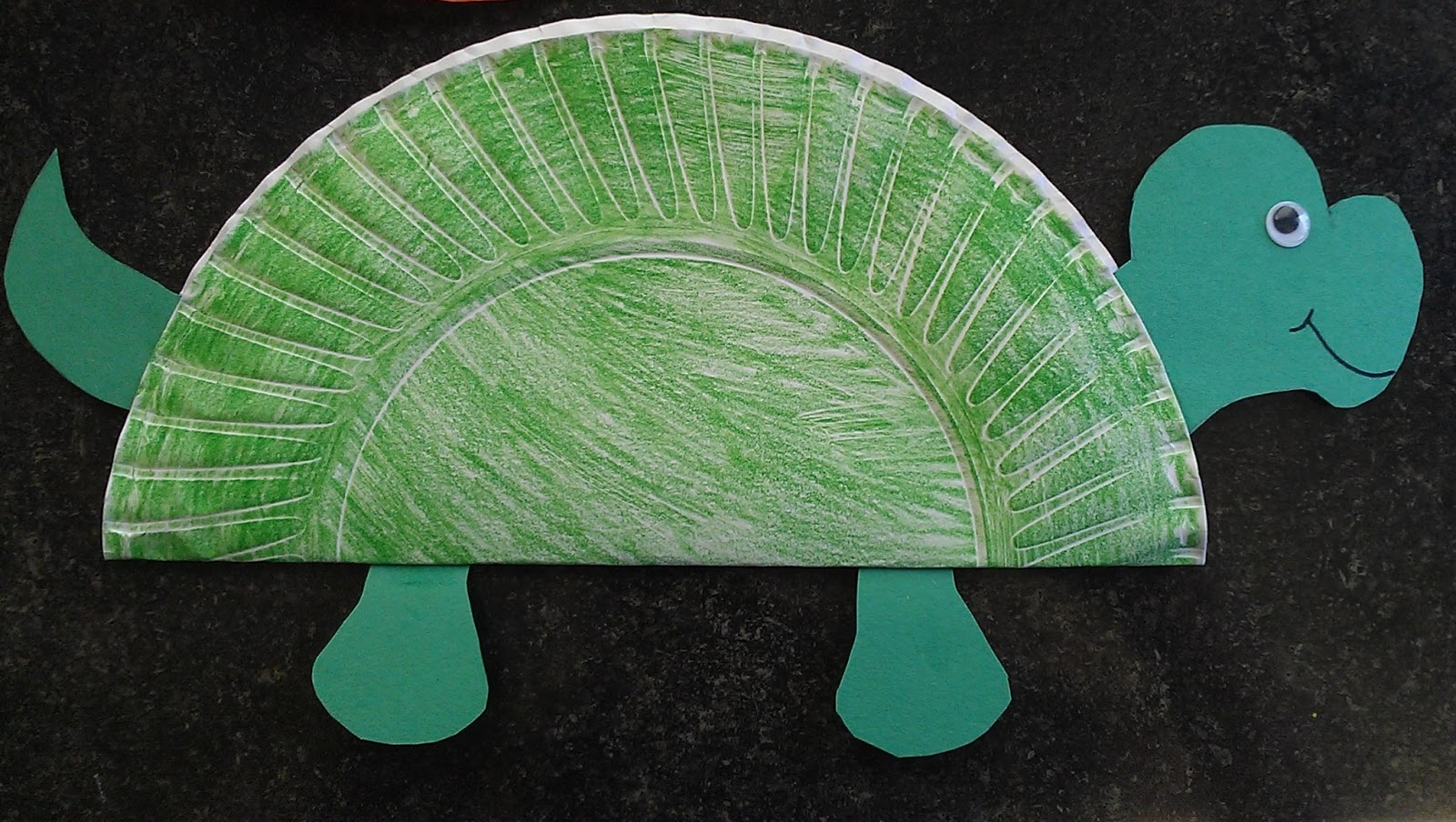Easy Turtle Craft Amp Child Care Basics Resource Blog Easy Turtle Craft