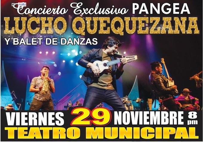 Lucho Quequezana en Arequipa - 29 de noviembre