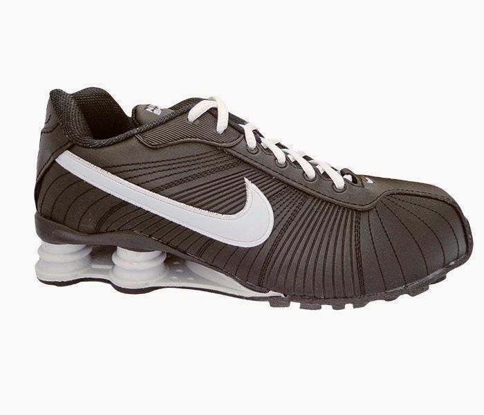 1eccd732bad ... Tênis Nike Shox Turbo V Preto e Branco cod.