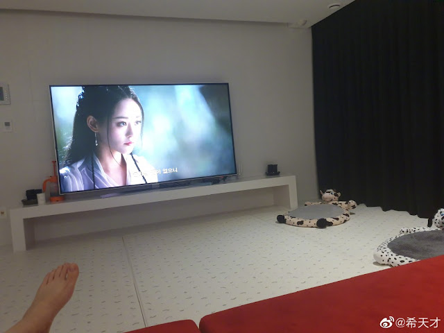Kim Heechul watches wuxia
