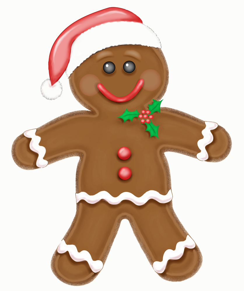 How To Draw A Gingerbread Man | KEY DECORATION
