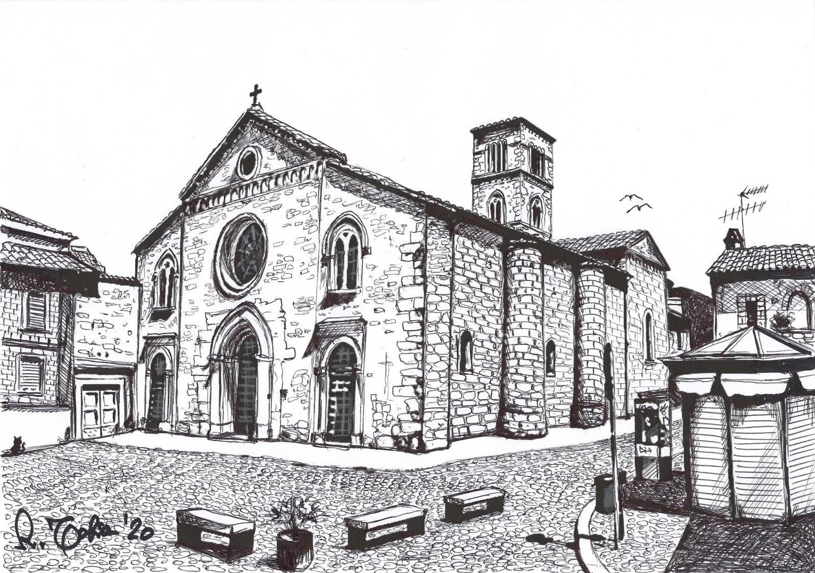 Riccardo Tobia: Grafica : Terni San Francesco - 2020
