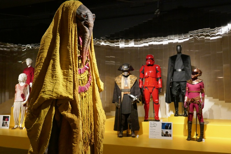 Star Wars Rise of Skywalker film costumes FIDM Museum