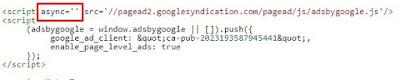 kode script page level ads sesudah