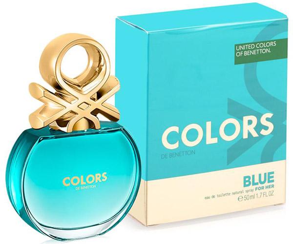 colors de Benetton Blue nueva fragancia para mujer