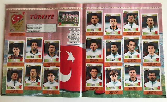 Figurine Turchia Euro 96