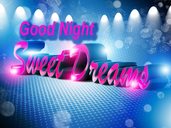 3D Good Night Image for Friends