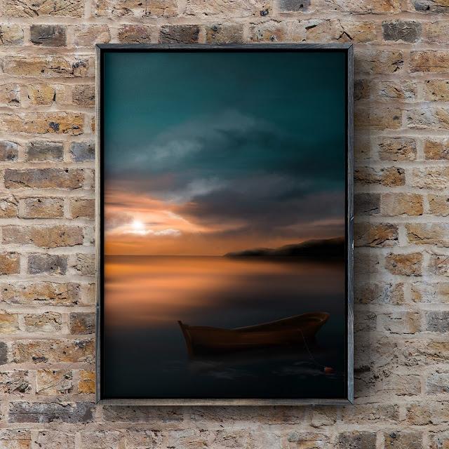 adrift collection, artwork by Mark Taylor, Fine Art America, landscape art,
