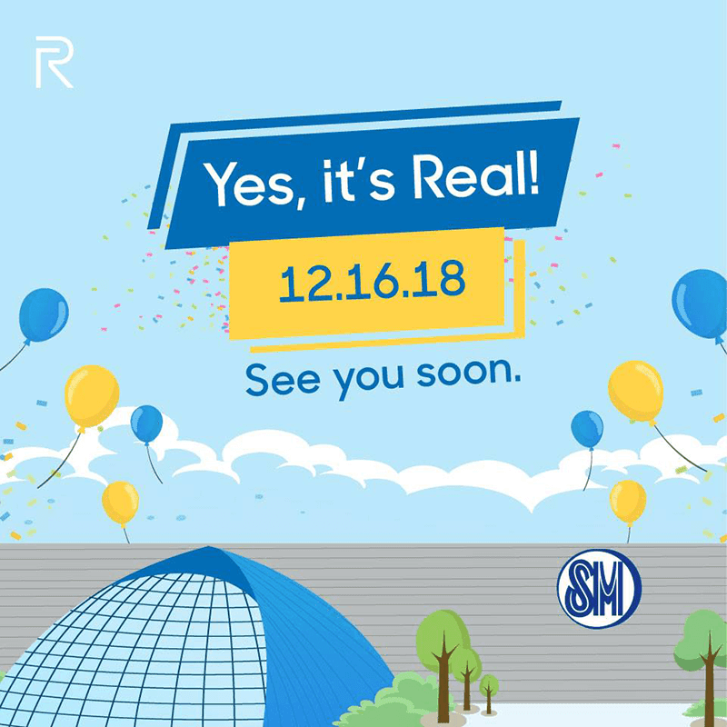 Realme to open its first physical store in the Philippines on December 16!