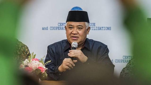 Din Syamsuddin: Kita Perlu Luruskan Kiblat Bangsa dengan Politik Moral