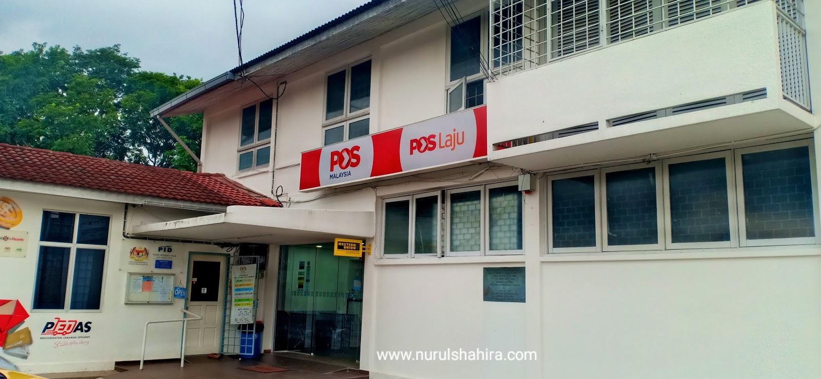 Renew license di Pejabat Pos Beranang