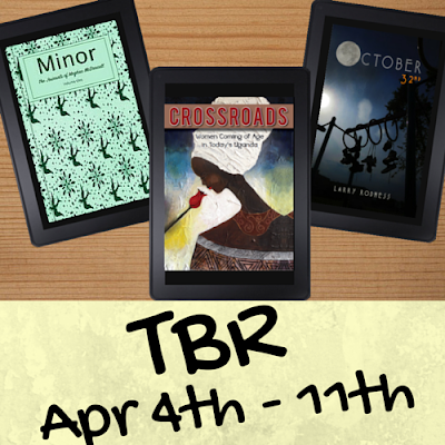 On My Kindle Book Reviews TBR List for April 4th to 11th