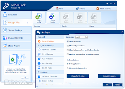 Folder Lock 7 | Computer Software