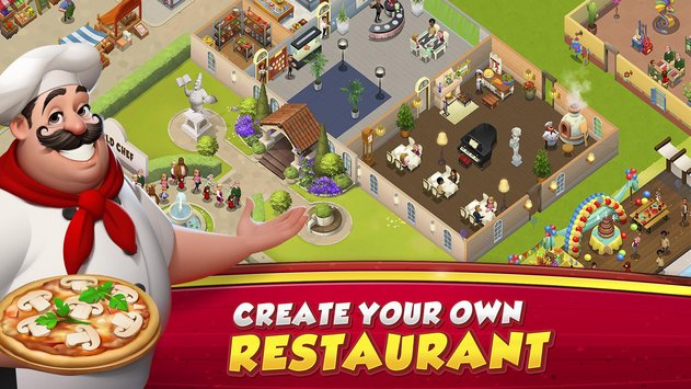 Download World Chef Apk Mod Instant Cooking V1.34.7 For Android Terbaru 2