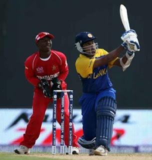 Mahela Jayawardene 100 - Sri Lanka vs Zimbabwe 7th Match ICC World T20 2010 Highlights