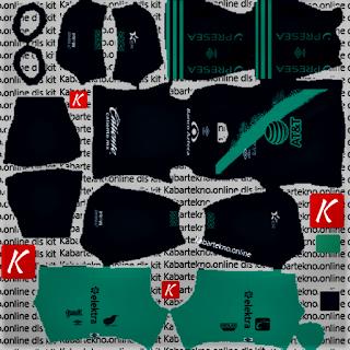 Club Puebla 2020 Away Kits DLS 2021
