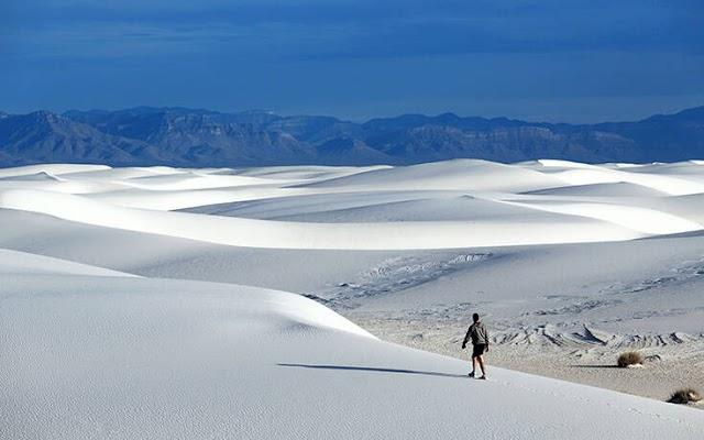 Το μεγαλύτερο πεδίο αμμόλοφων από γύψο σε ολόκληρο τον κόσμο