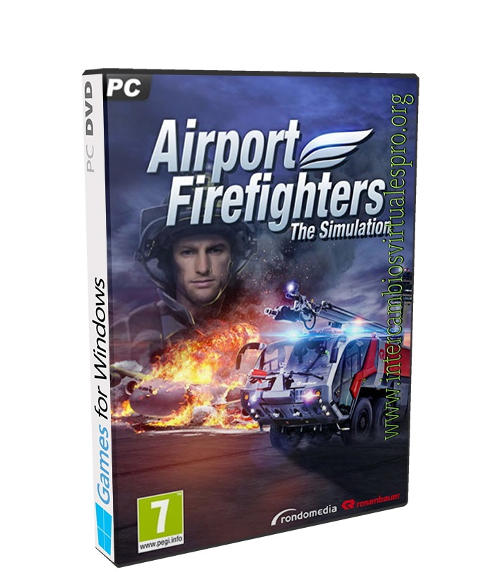 Airport Firefighters The Simulation poster box cover