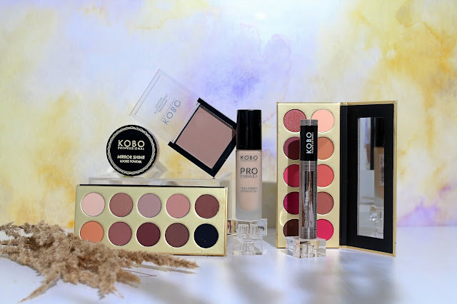 Nowa kolekcja Kobo Professional, palety, rozświetlacz, mascara Drogeria Natura